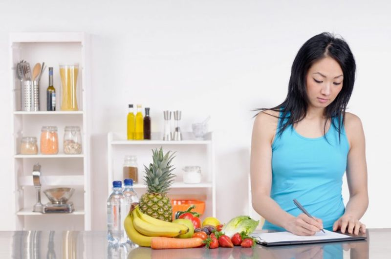Food-diary experimentation training-schedule