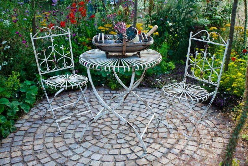remove rust borax patio furniture