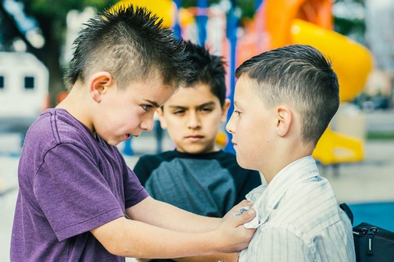 aggressive less agreeable children
