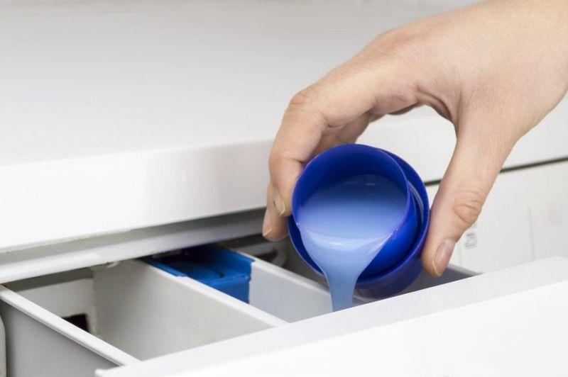 excess detergent grime