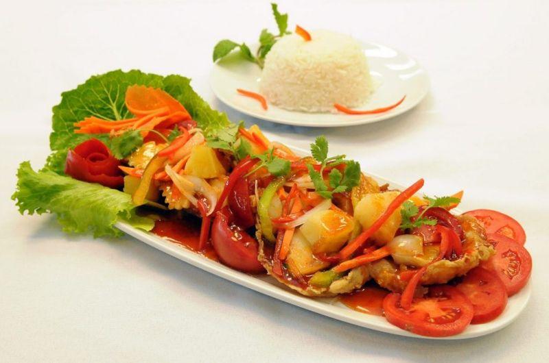 sweet sour fish tilapia