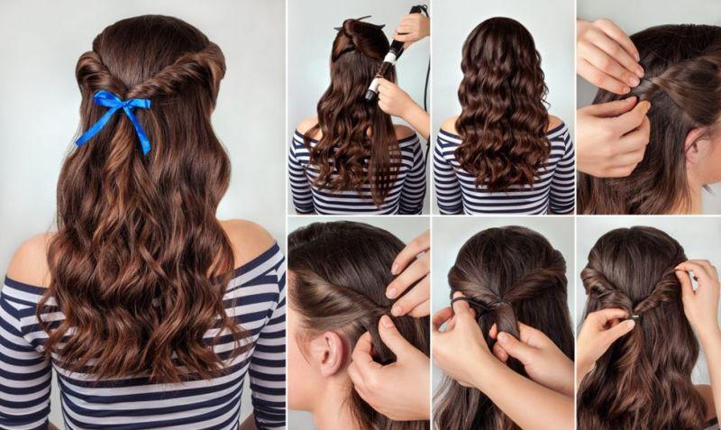 maiden braids, ribbons, flowers, fuller