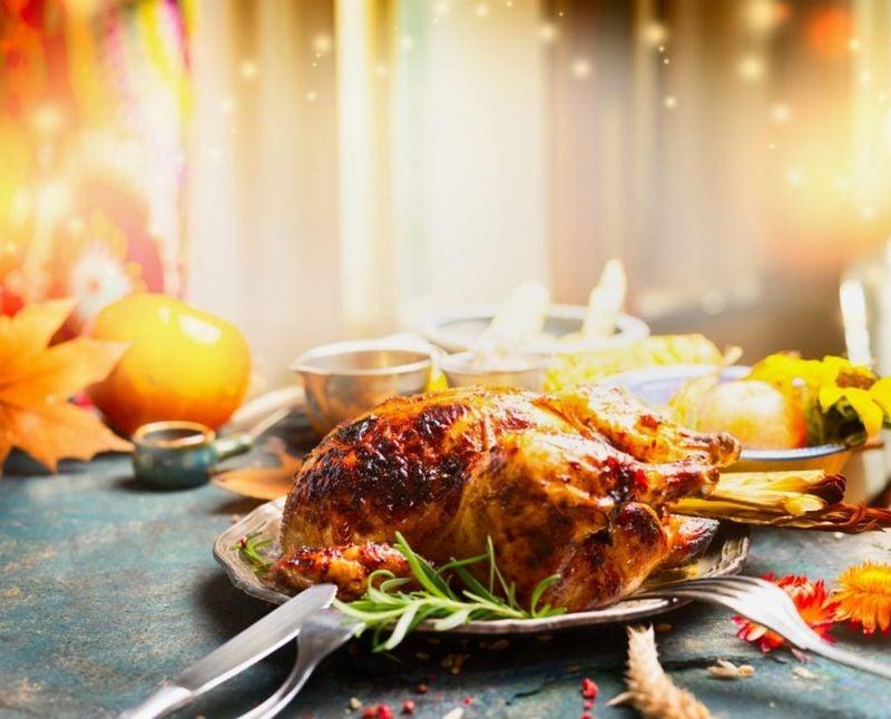 Air fryer Thanksgiving turkey