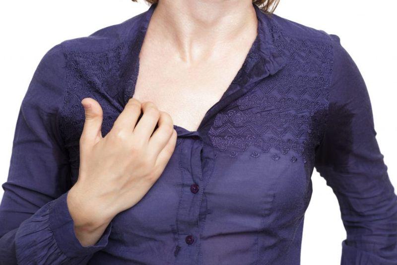skin abnormalities sweating