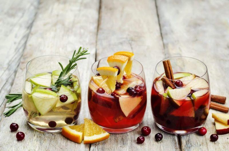wine fruit sangria