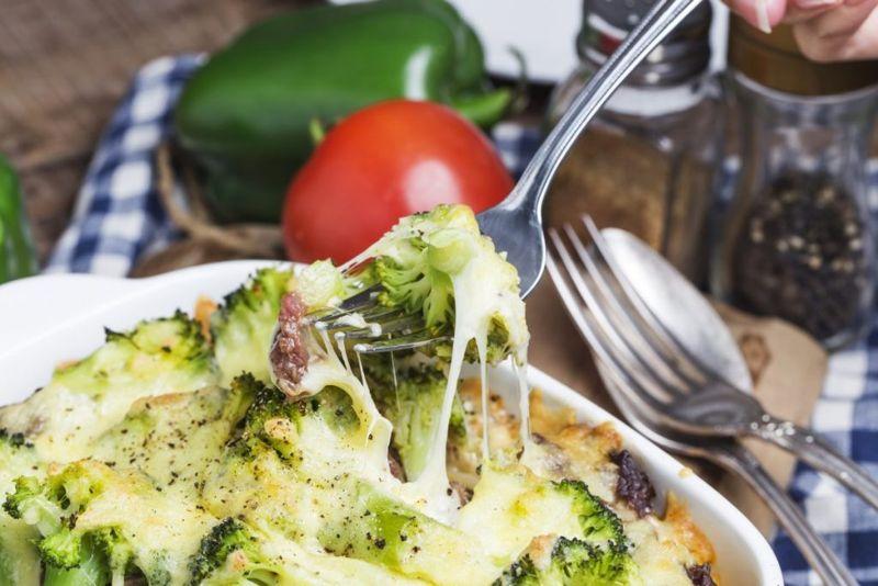 broccoli ham casserole baked cheese
