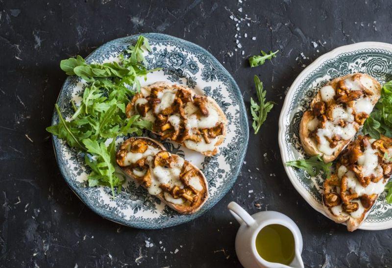 grilled cheese mushroom