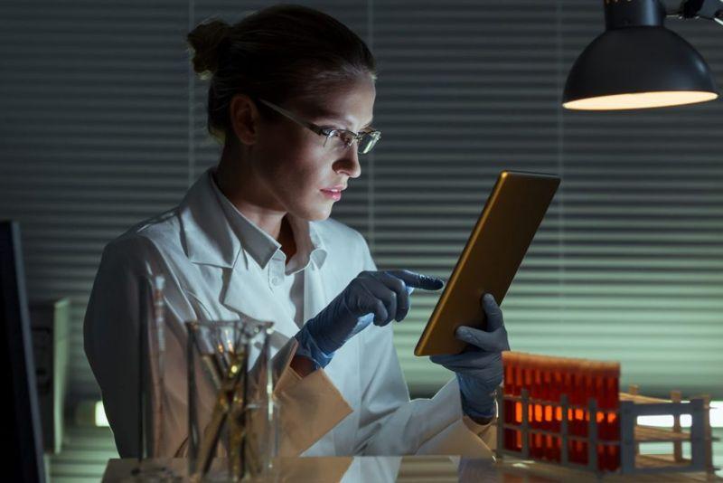 researcher laboratory