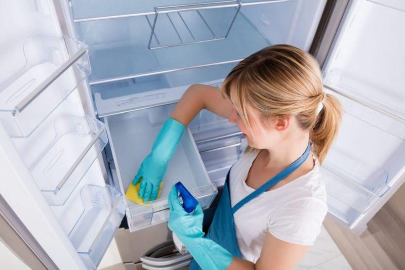 refrigerator clean fresh borax