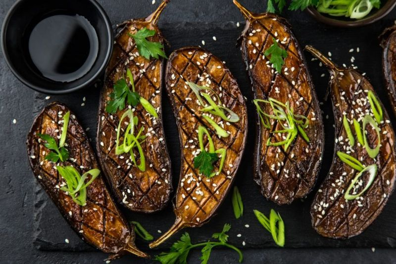 miso grilled eggplant