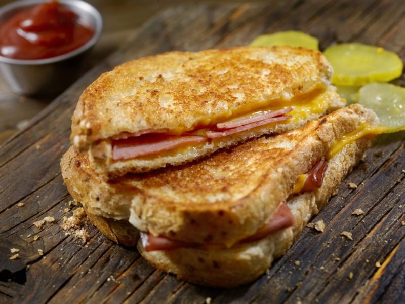grilled cheese ham