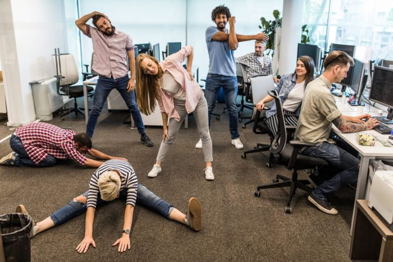 office exercise routine