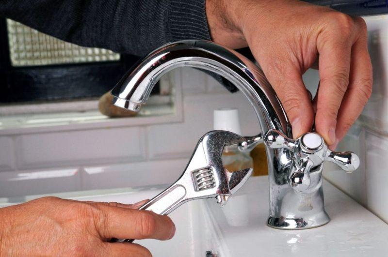 Réparation d'un robinet