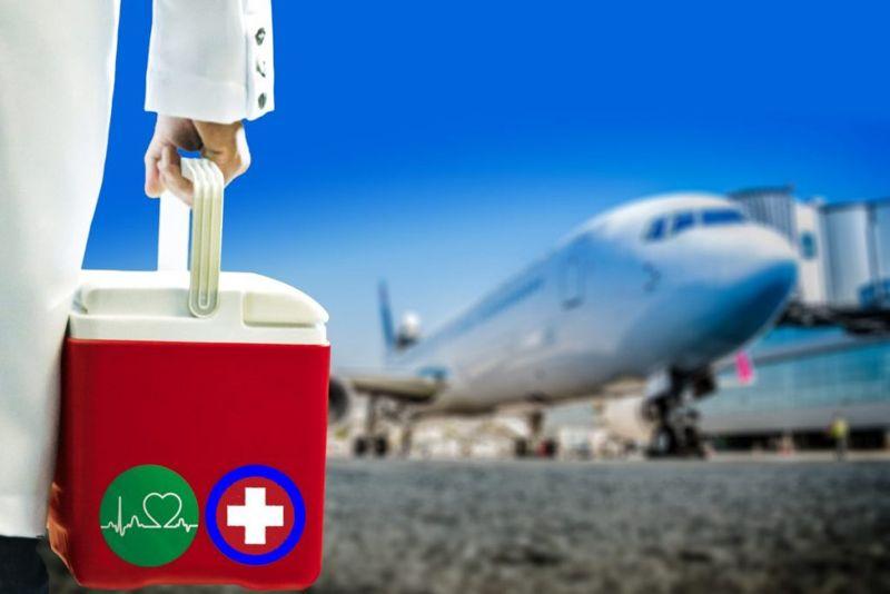 region donation UNOS plane