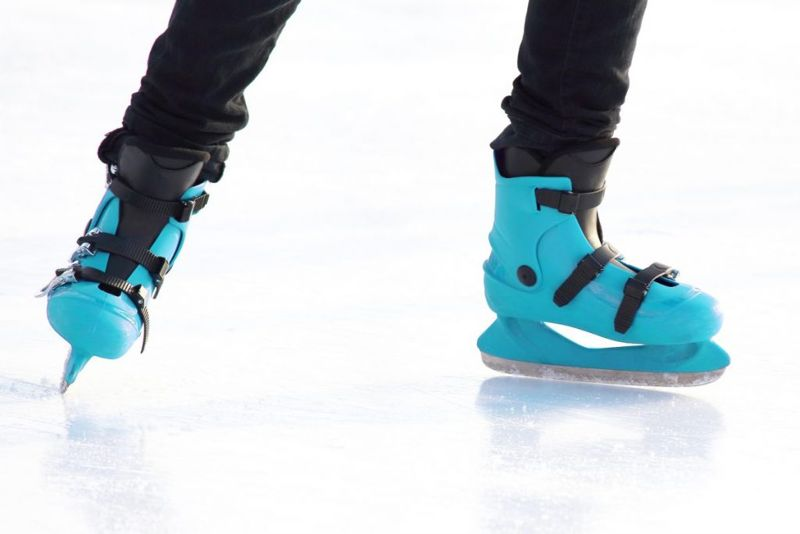 learn stop ice skating
