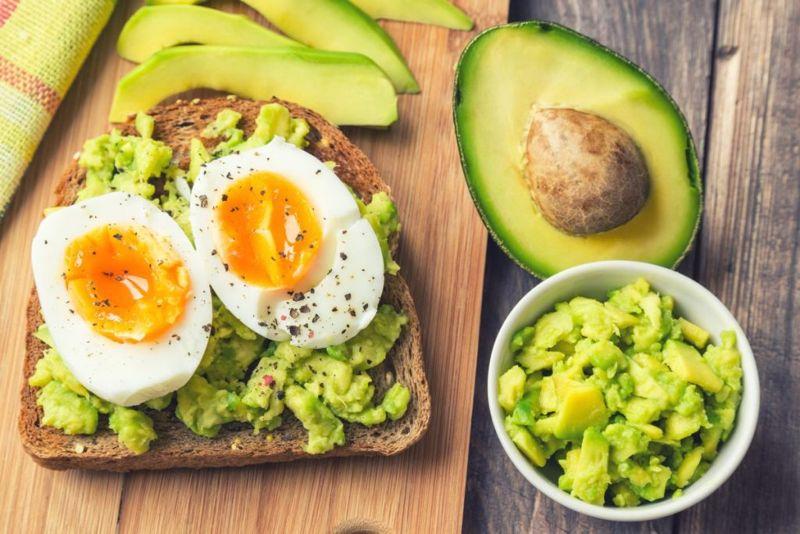 Avocado Toast Eggs
