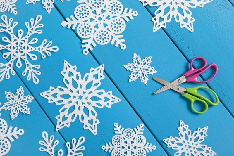 paper snowflake patterns hobby