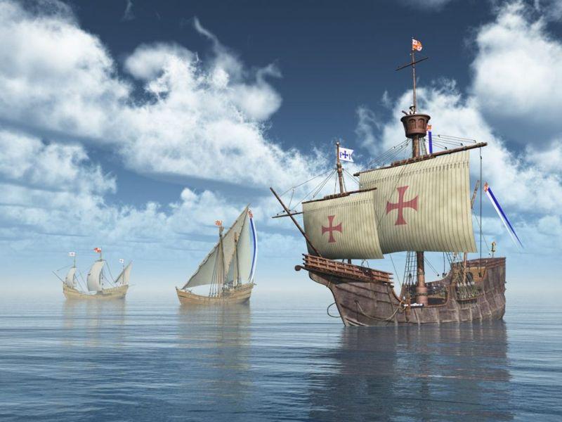 ships voyage columbus spanish