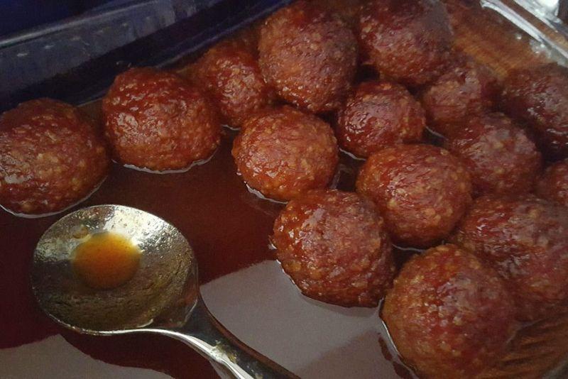 ham balls honey glazed