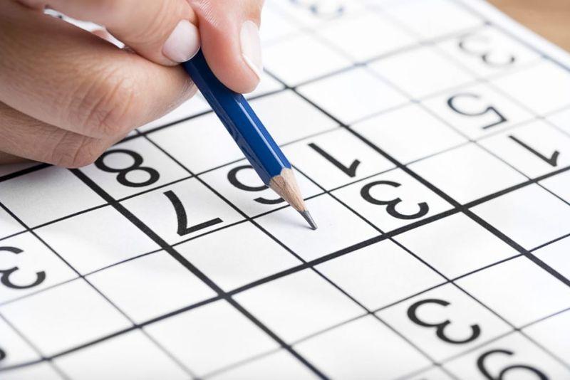 sudoku puzzle pencil
