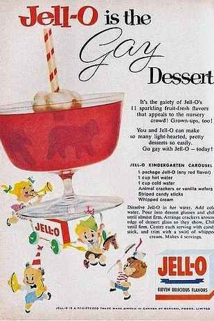 Jello vintage ad