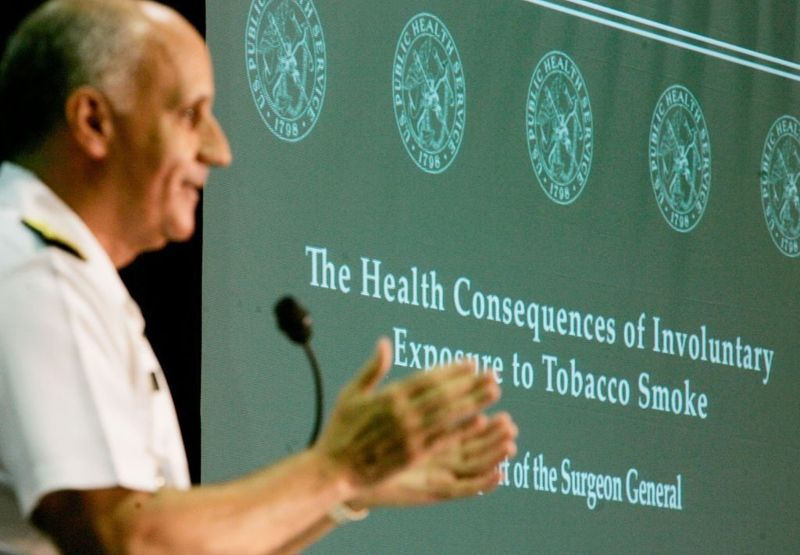 secondhand smoke surgeon general