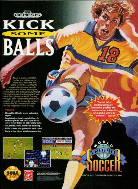 Vintage video game ad