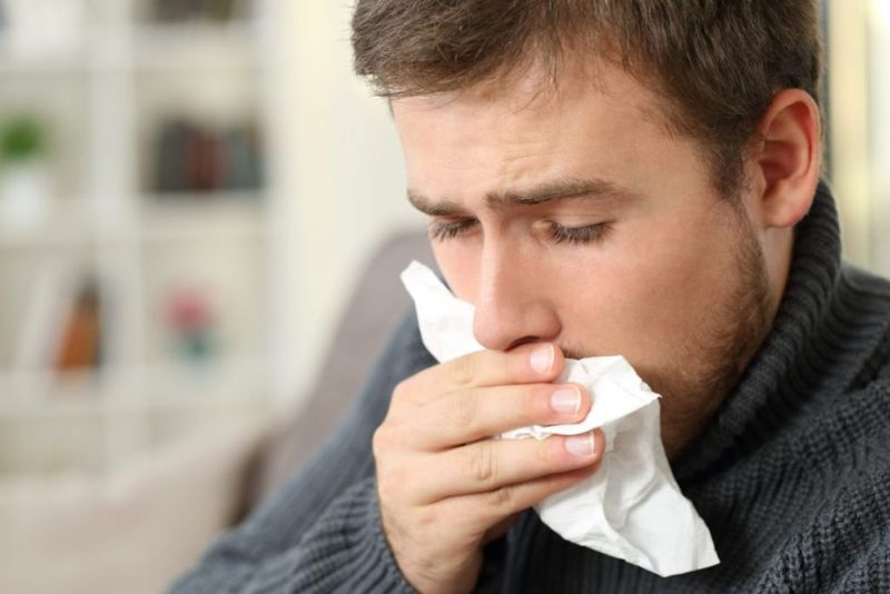 coughing blood airway inflammation
