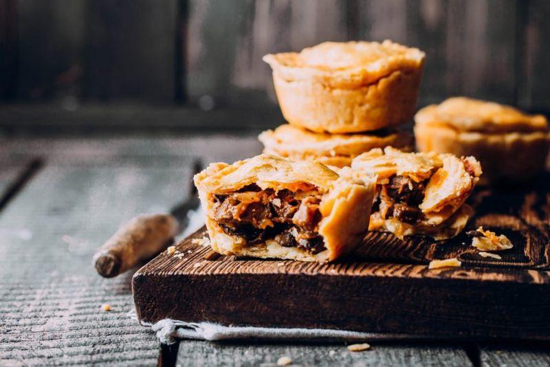 Meat pie, crust