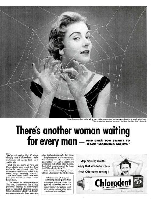 Toothpast vintage ad