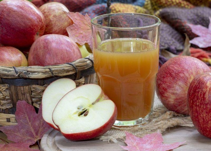 hard apple cider, leek, garlic