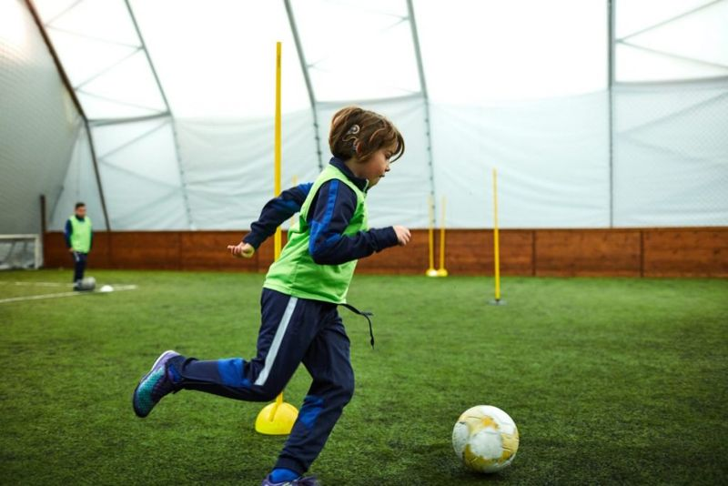 Child Sports Cochlear Implant