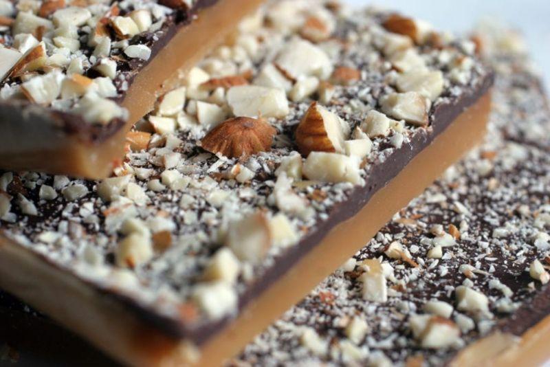 Cranberry Sauce Recipes Almond Brittle