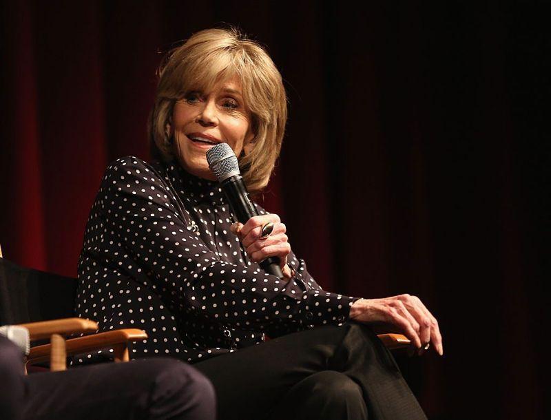 Jane Fonda Cigarette Pants
