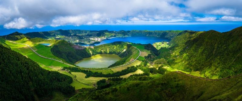 Portugal Azores landscapes