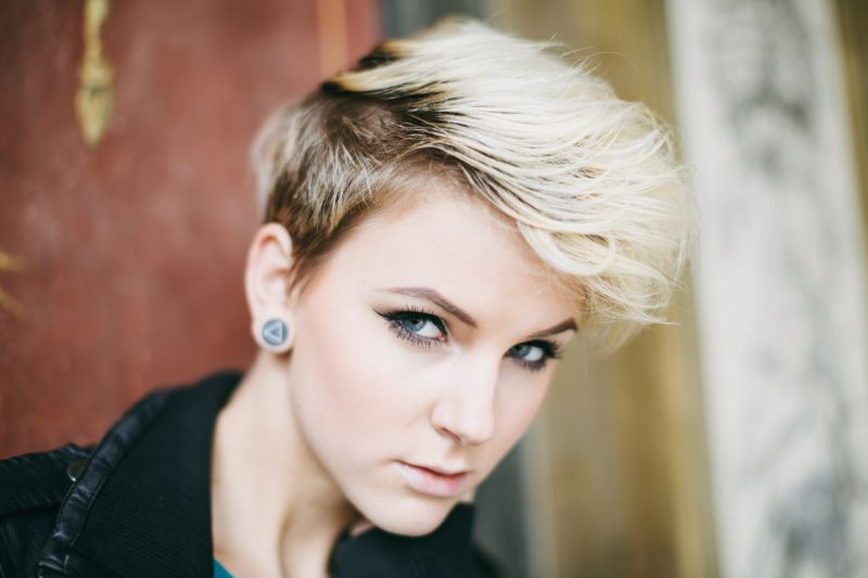 Trendy tapered cut