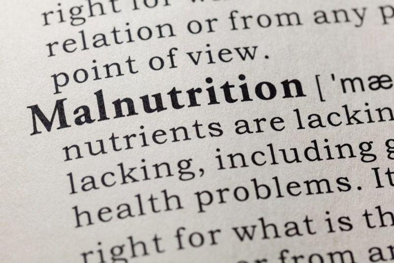 Malnutrition Undernourished Overnourished