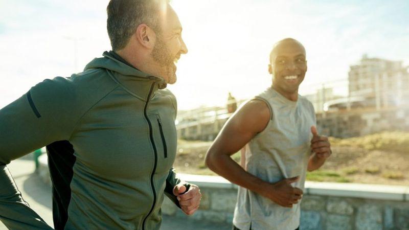 outlook prognosis men running positive