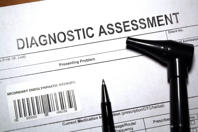 MRI perchlorate discharge genetic testing