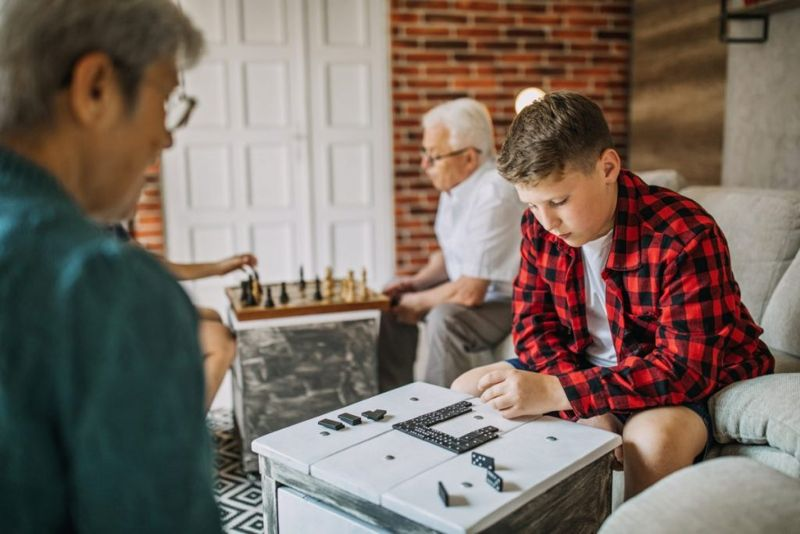 family games dominoes