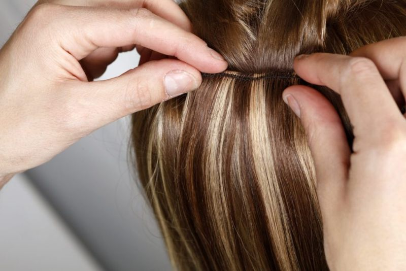 Highlights in your hair