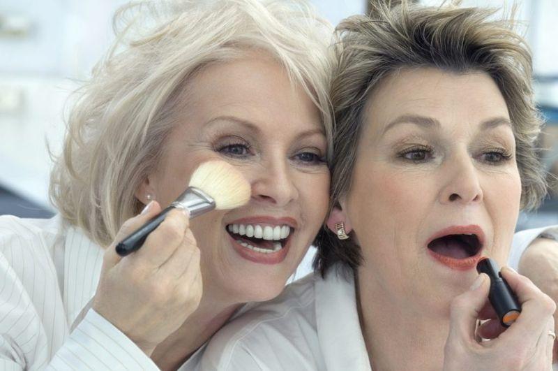 Lipstick for older women