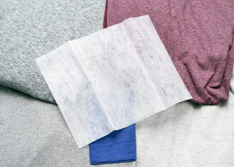 fabric softener pad sheet