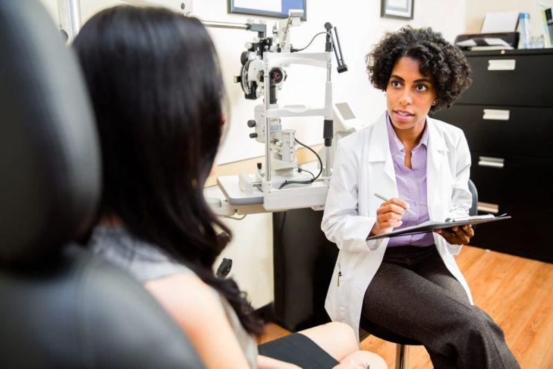 Image of Eyecare professional.