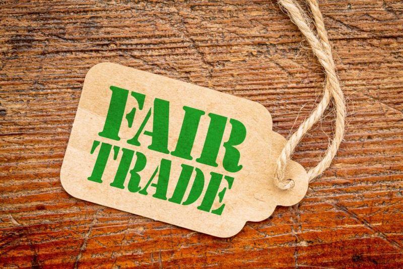 fair trade sign