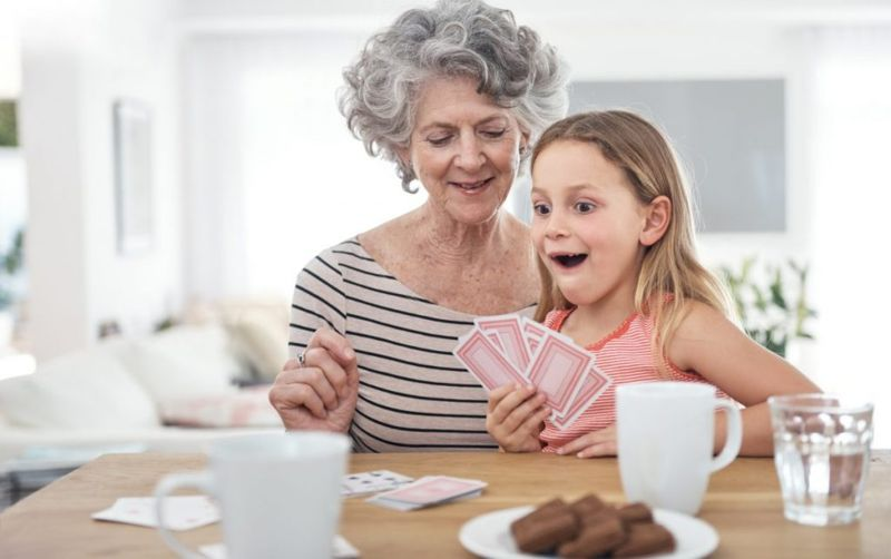 games, play, family, grandparents, kids