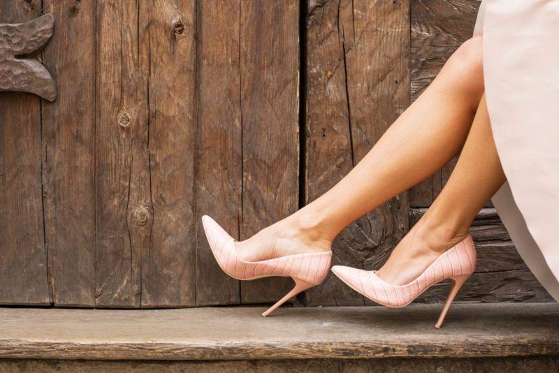 leg slimming shoes