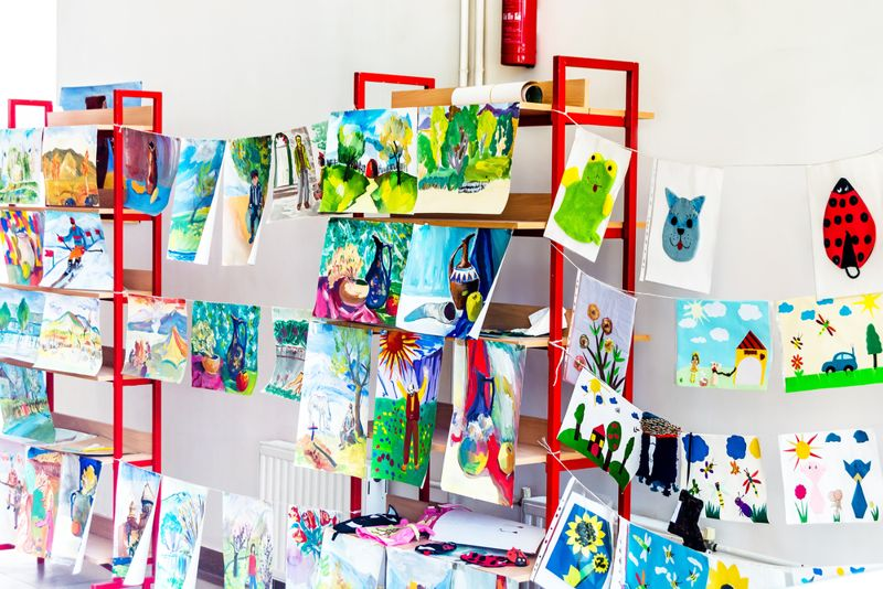 Children's exhibition of paintings