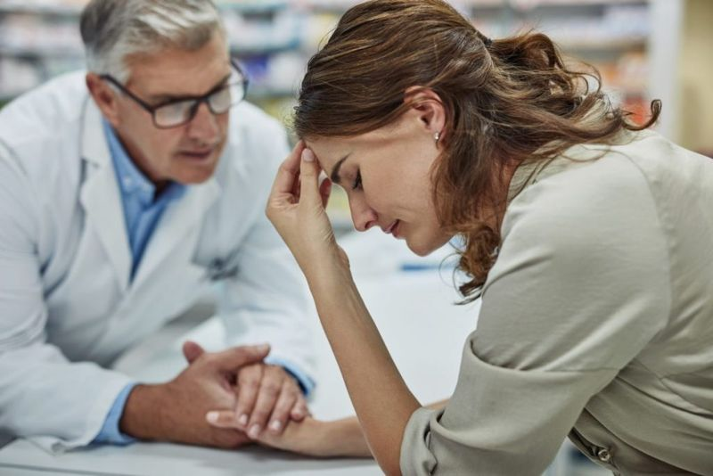 doctor patient lightheadedness symptoms