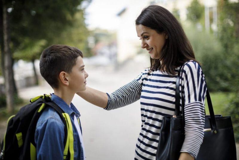 parent child talking repetition